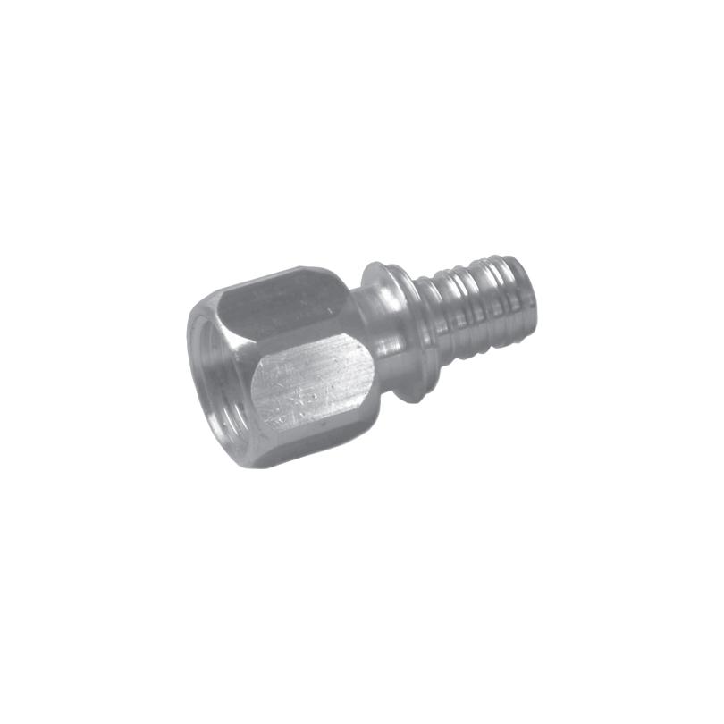 Złączka mosiężna podłączeniowa CLEVERFIT Axial z gwintem wewnętrznym (GW)