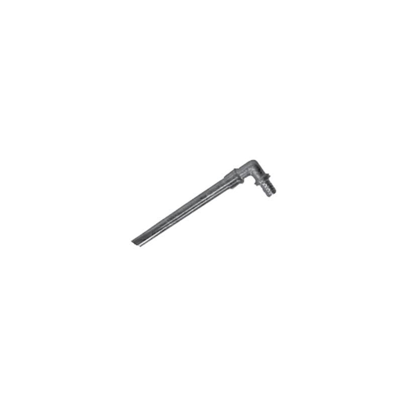 """Przyłącze grzejnikowe z rury miedzianej niklowanej """"L"""" - 250 mm CLEVERFIT Axial"""
