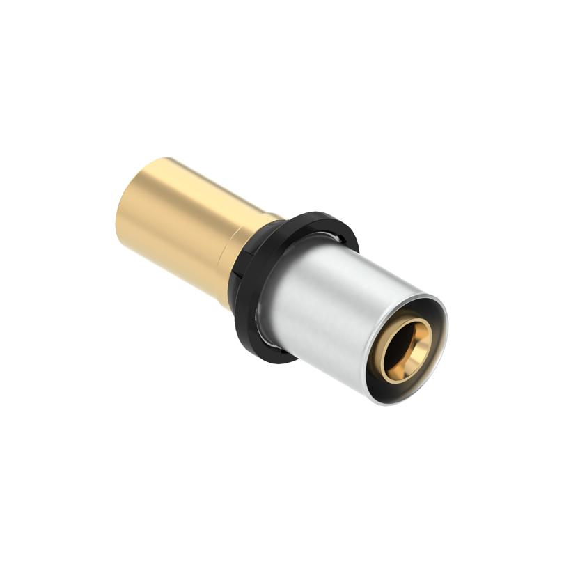 Złączka przejściowa CLEVERFIT Radial do połączenia z systemami zaprasowywanymi z miedzi