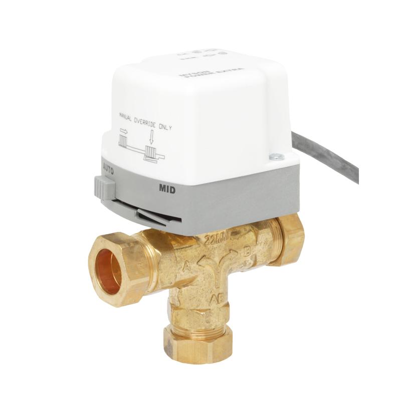 Control valve MPE 3 way