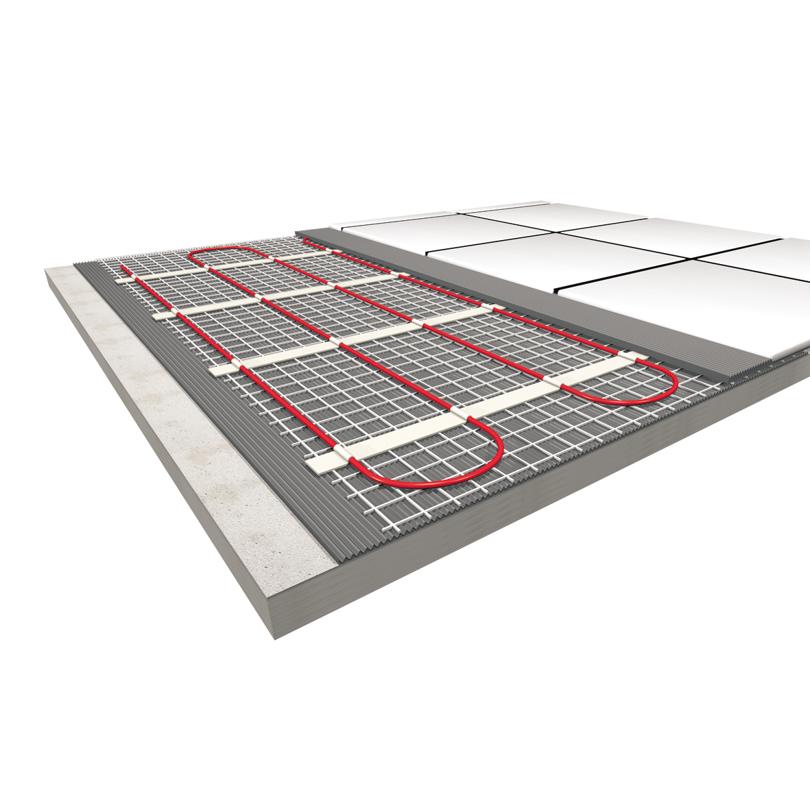 eljet Elektro-Fußbodentemperierung