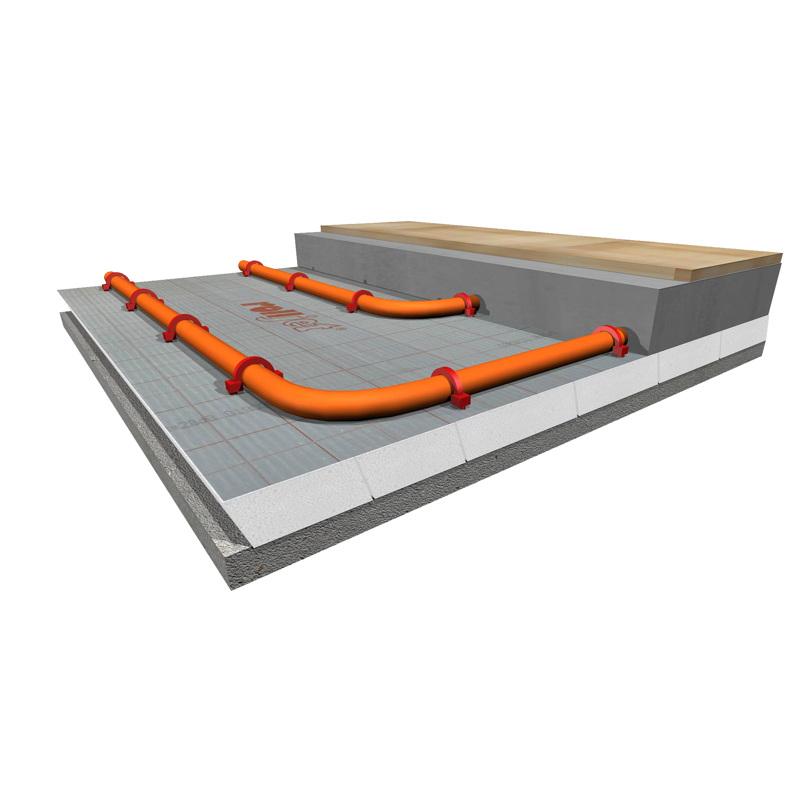 Floor heating systems