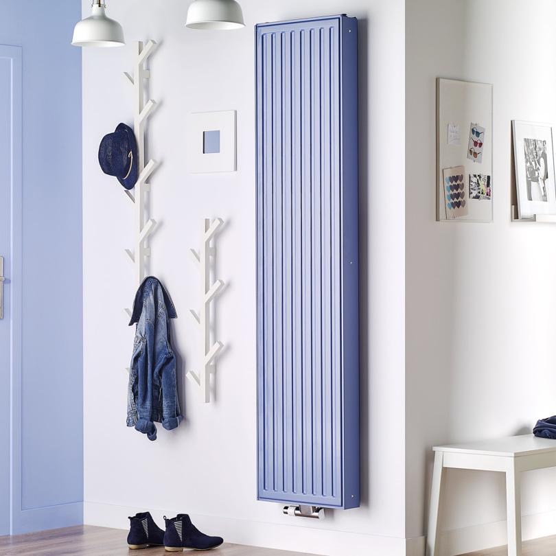 Vertikala radiatorer