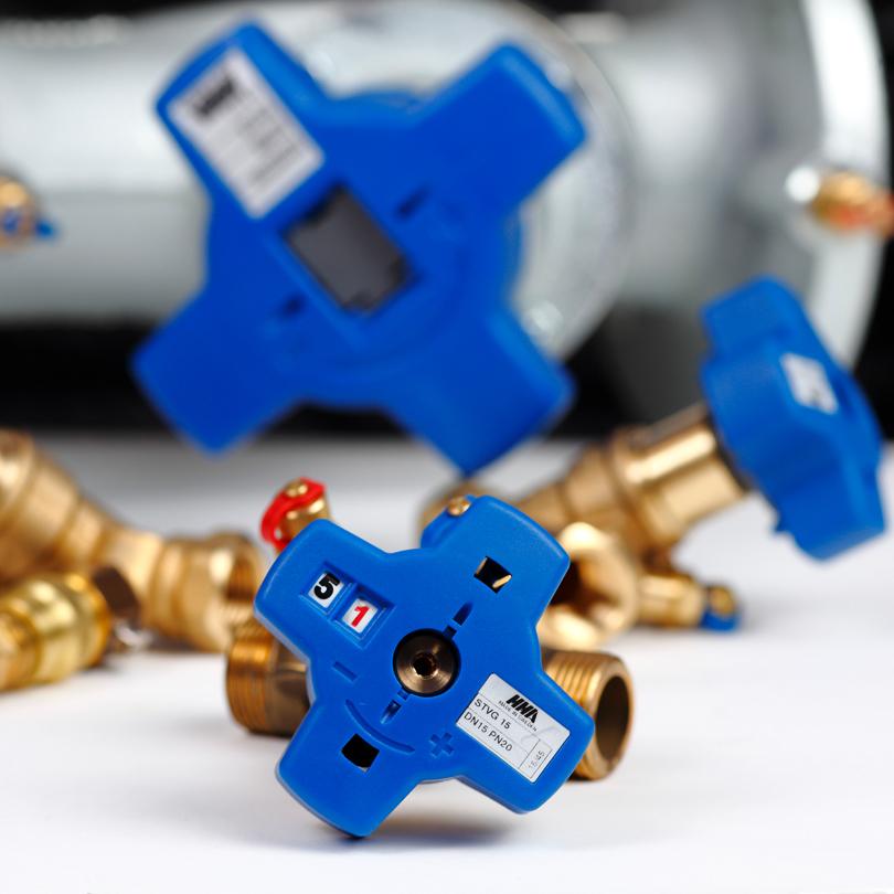 Balancing valve STV External threading