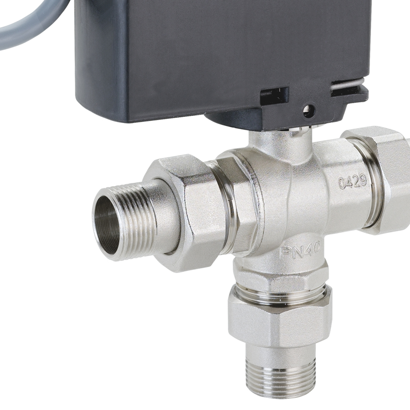 Motorized 3 way valve