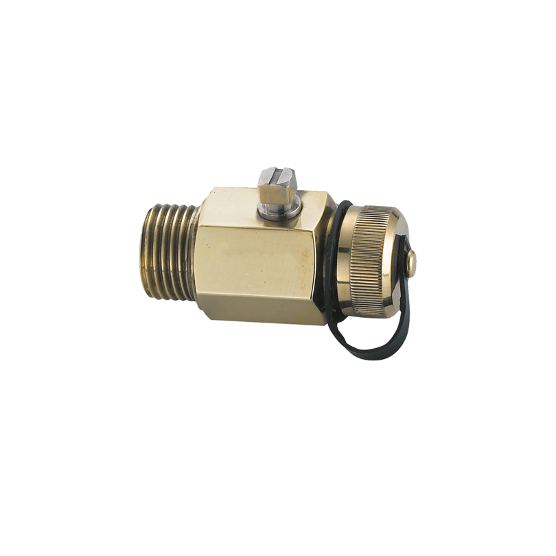 Avtappningsventil G10 med lock för rörsystem