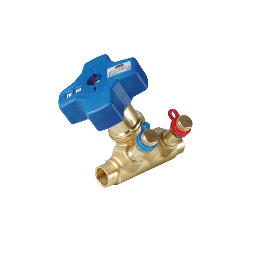Balancing valve Evobalance Soldering