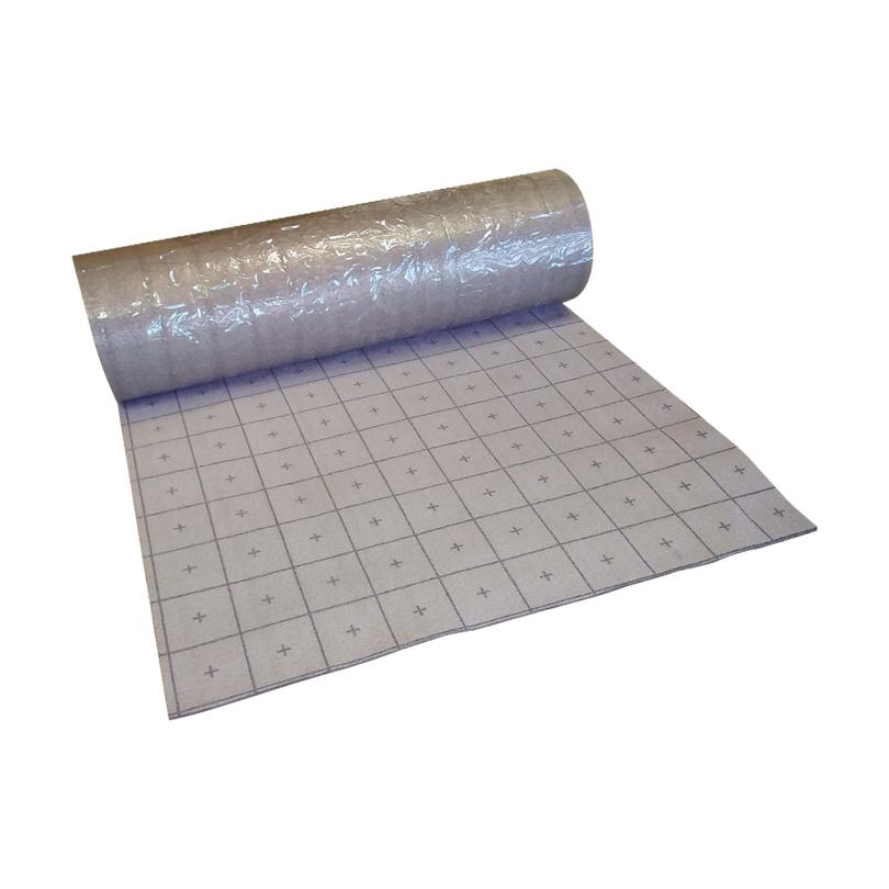 Fußbodenheizung Klettsystem
