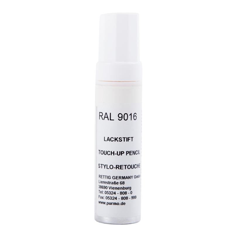 Lakstift RAL 9016