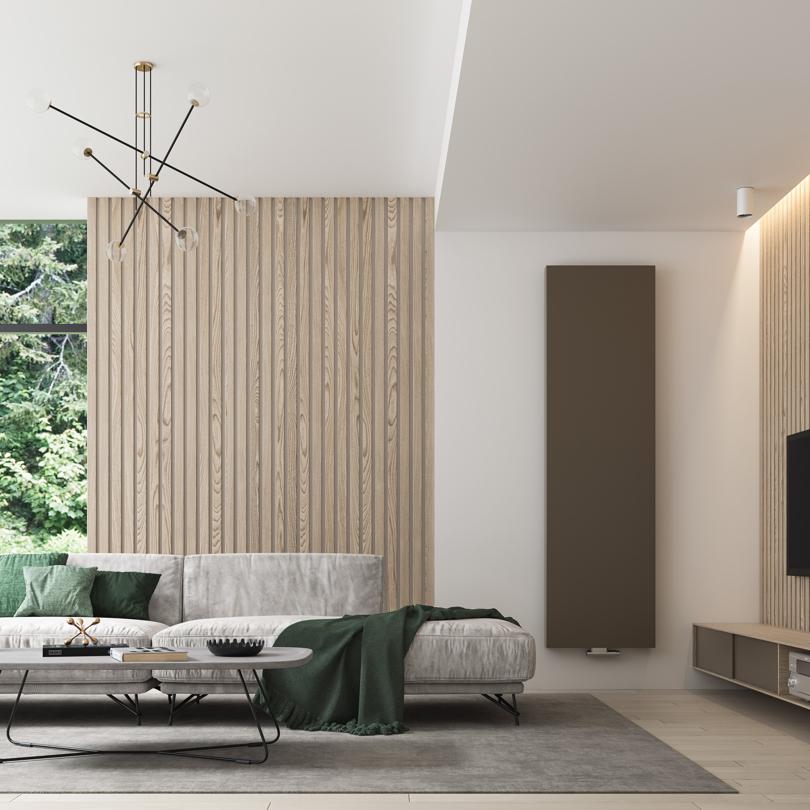 Verticale design radiator
