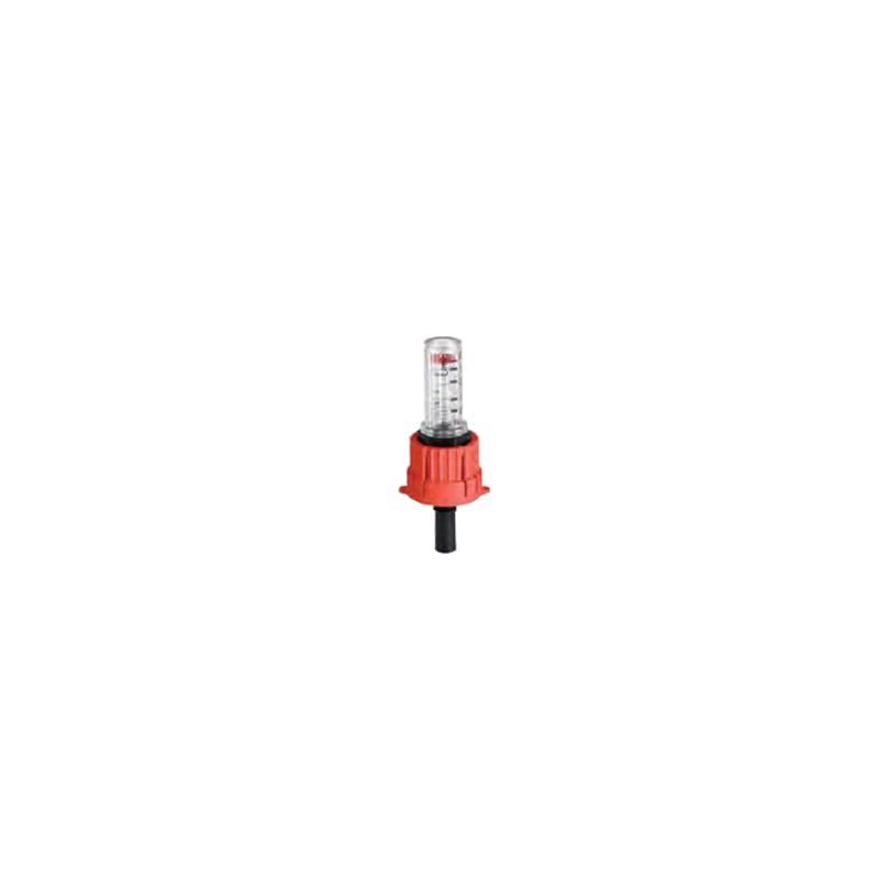 Premium verdeler - vervanging flowmeter rood