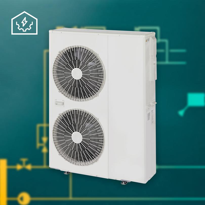 Verwarming en koeling