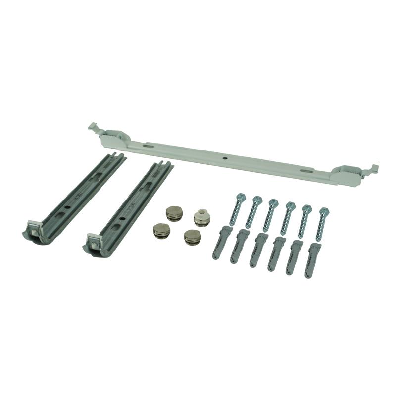 Console set verticale radiatoren - wit