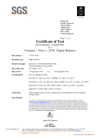EMC Test Cerificate – Yali-Digital 230V