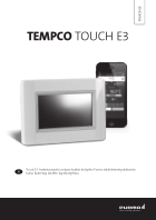 Pikaohje – Tempco Touch E3 ohjain