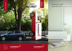 Purmo Campaign brochure – Think Vertically