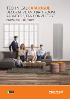 TECHNICAL CATALOGUE DECORATIVE AND BATHROOM RADIATORS, FAN CONVECTORS (04.2019)